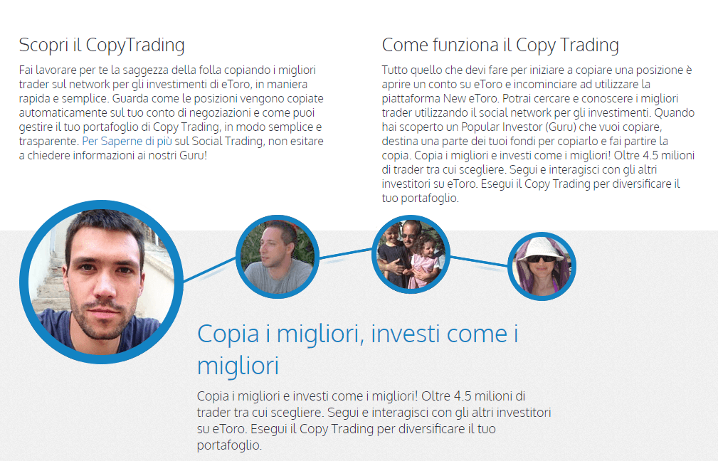 Come fare trading con la new eToro